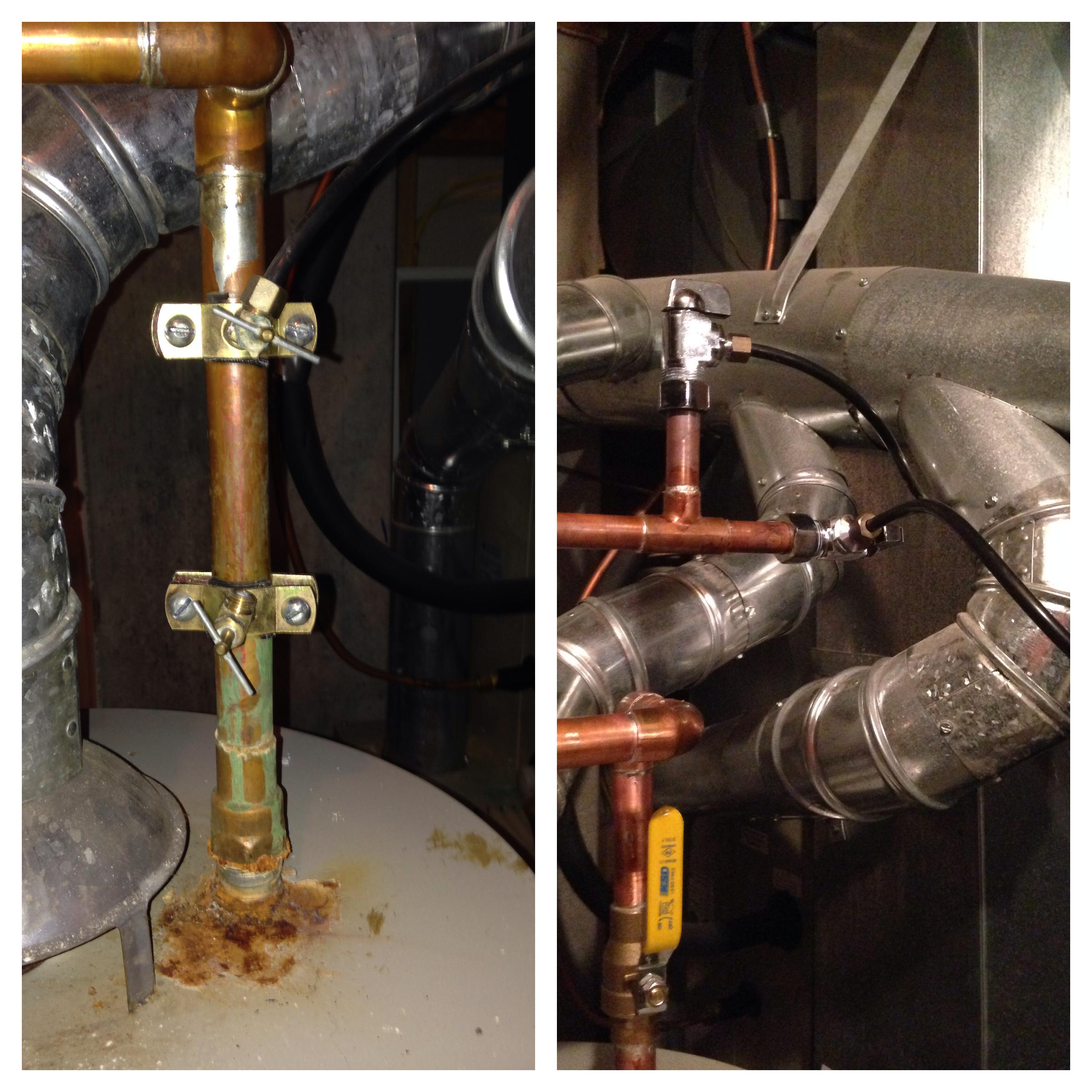 saddle valves vs 1:4 turn valves #C28509