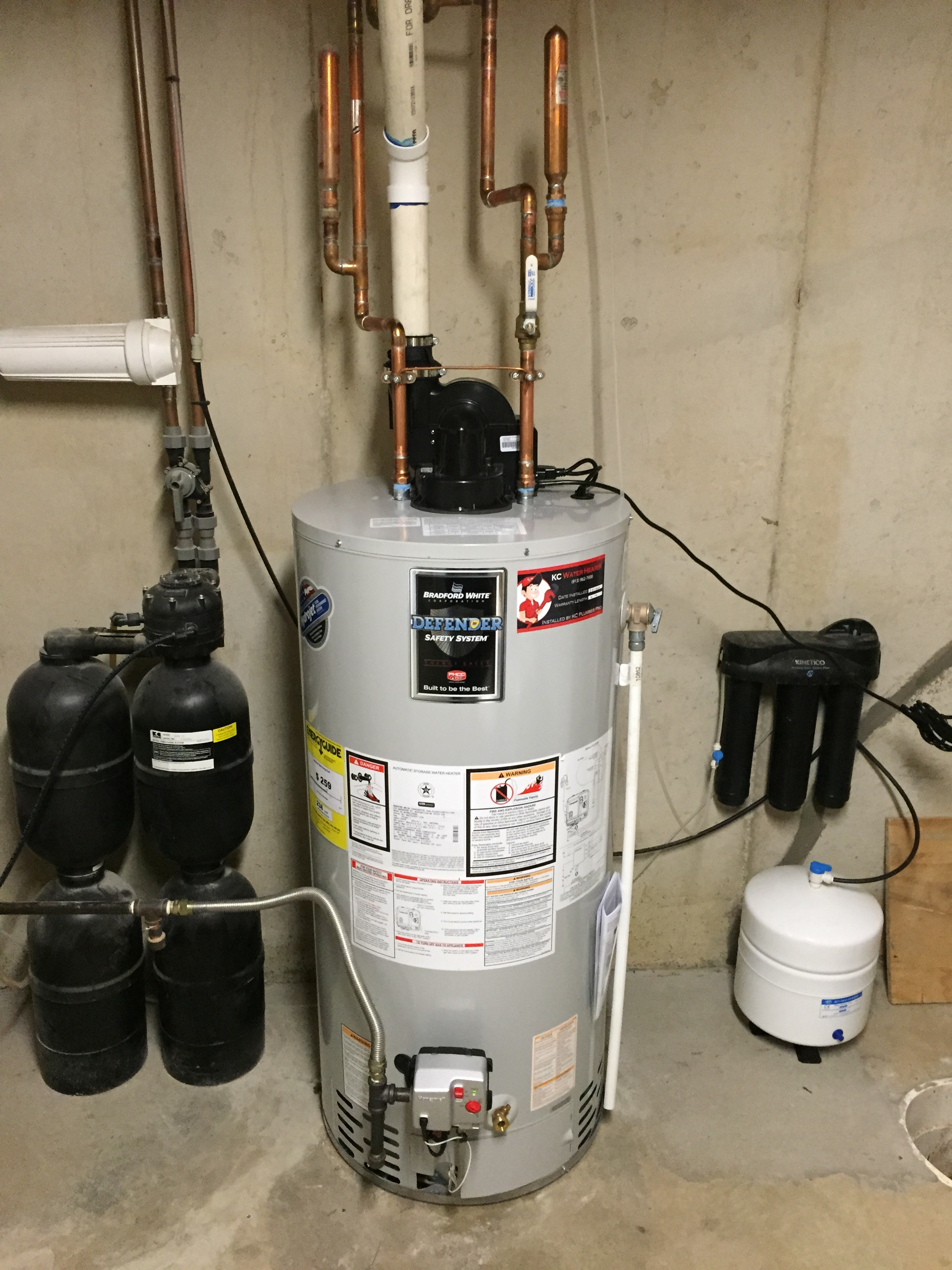 How to vent a hot water heater - Power Vent Water Heater Lenexa