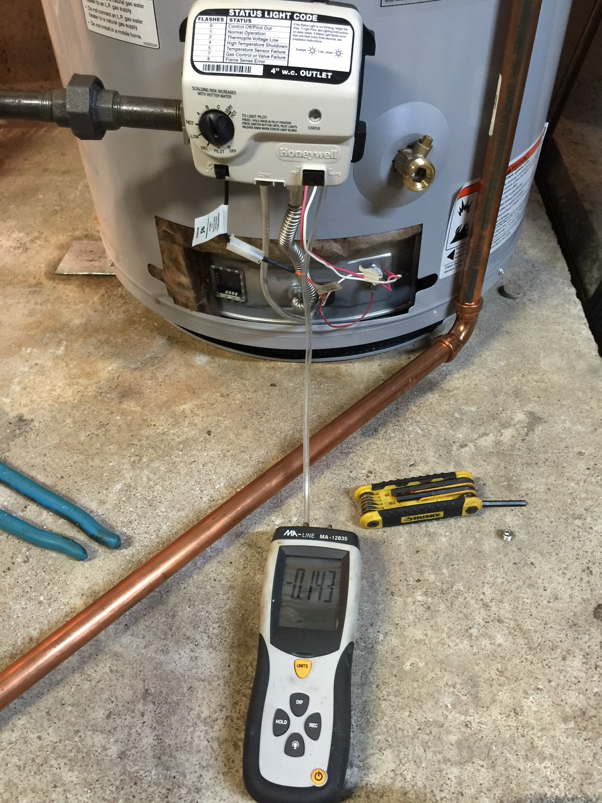 Honeywell Gas Control Valve Troubleshooting For Water Heaters