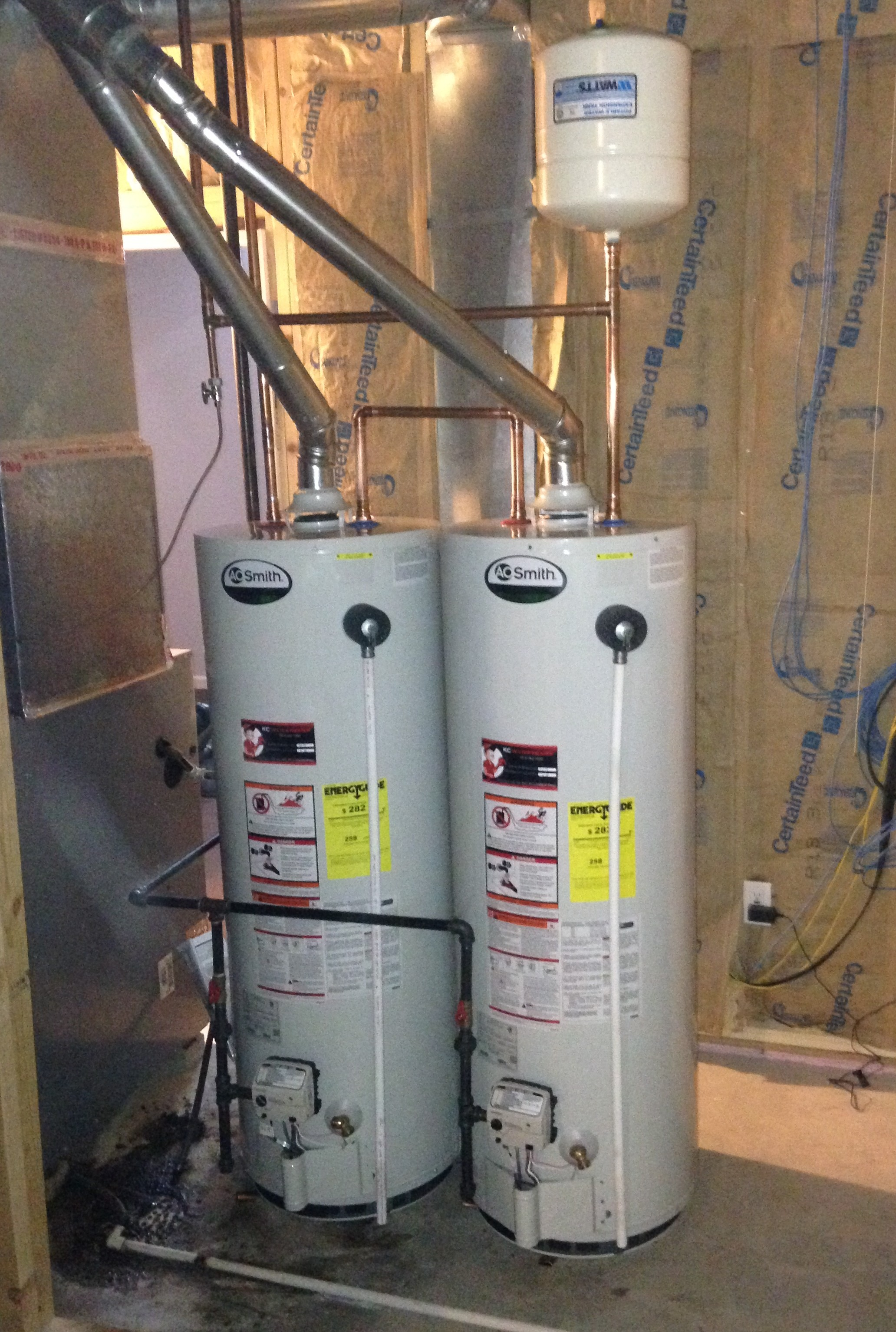 Water Tank Installation : Kc water heaters installation and repair specialist