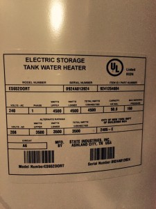 Age of State Select water heater