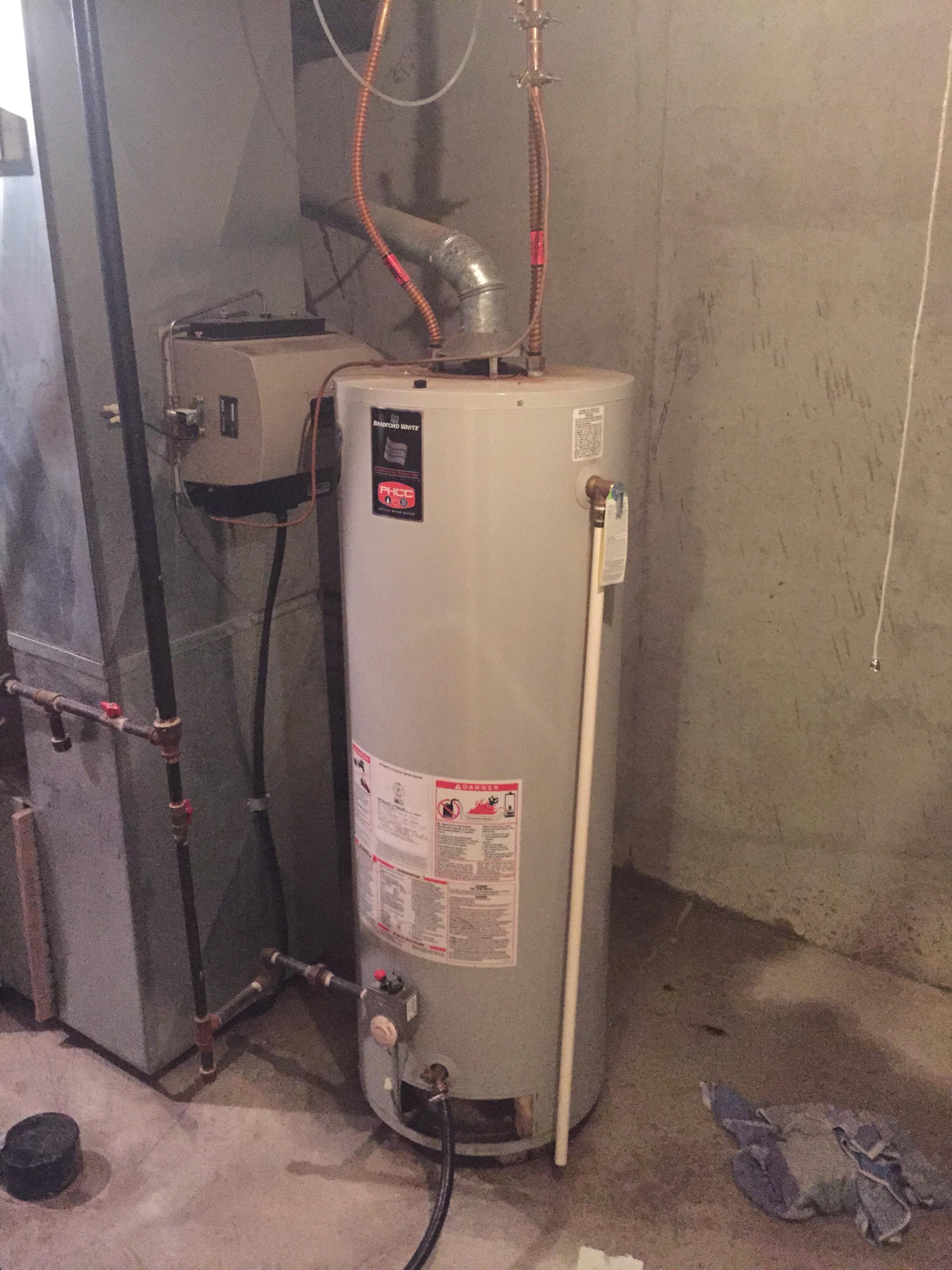 Water Heater flex supply