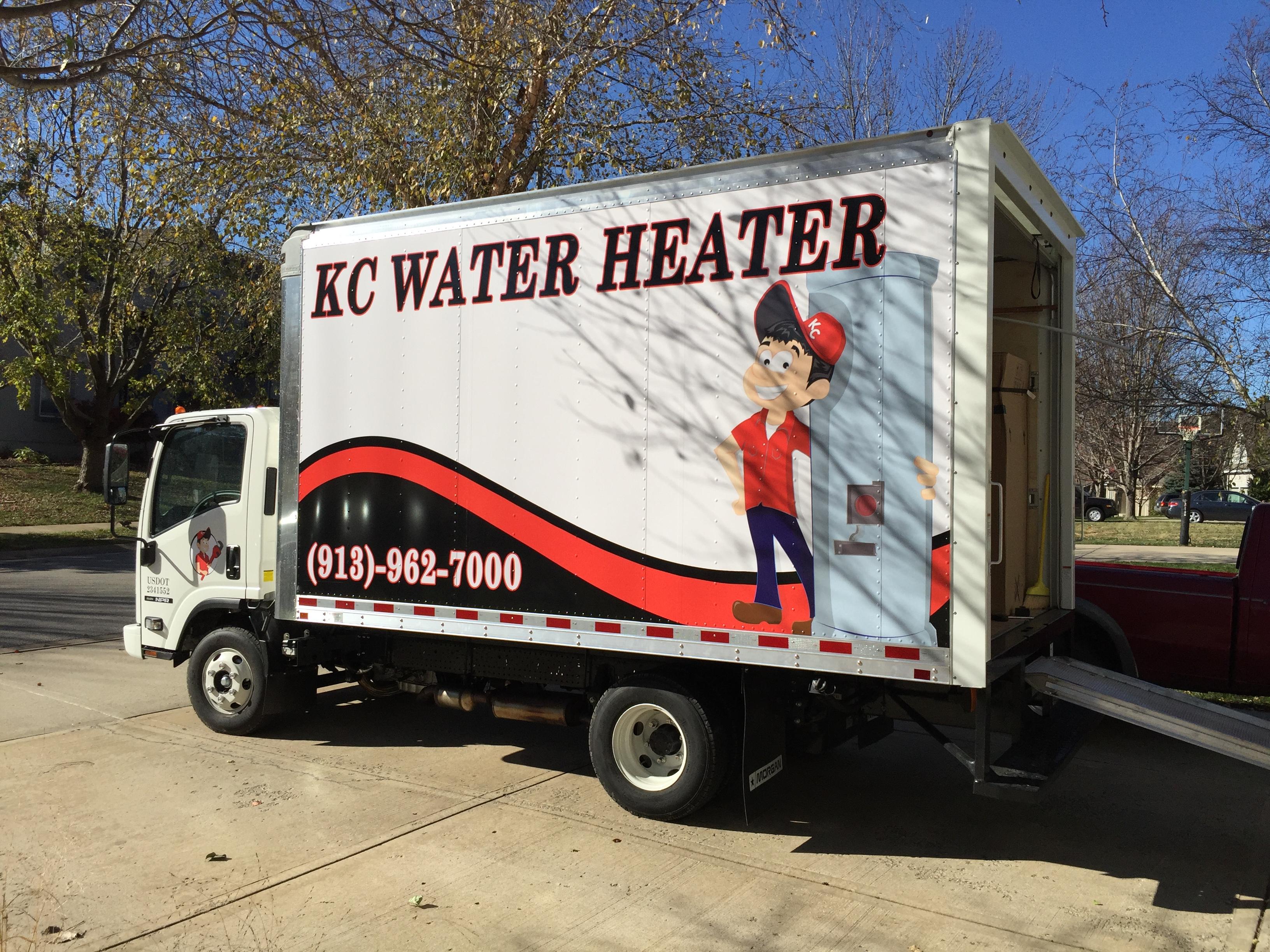 Hot water heater installer