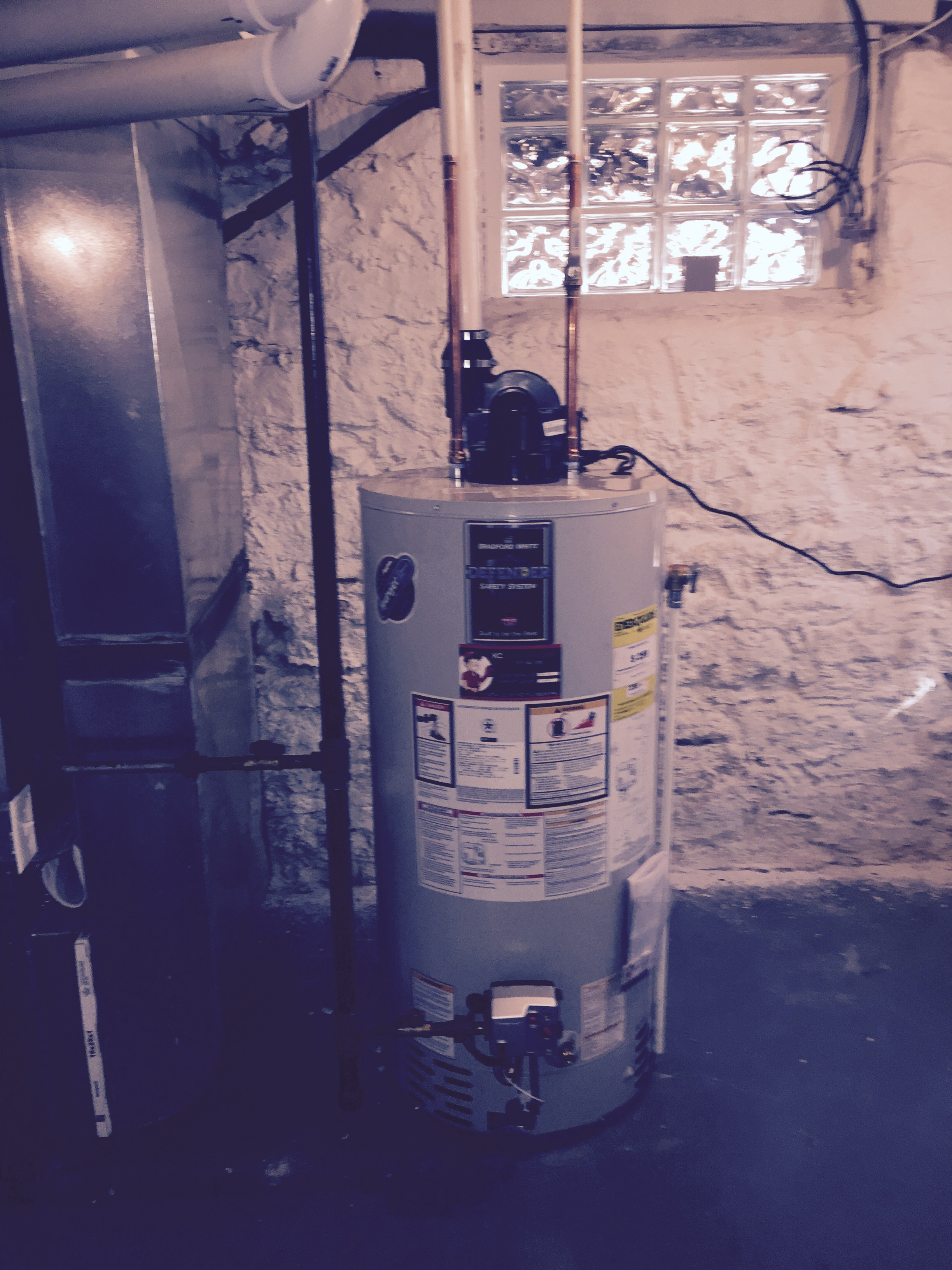 Bradford White 50 Gallon Power Vent Water Heaters