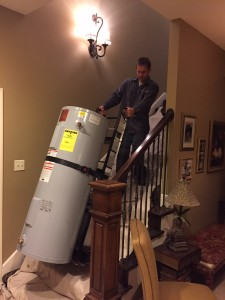 Chase Thompson water heater