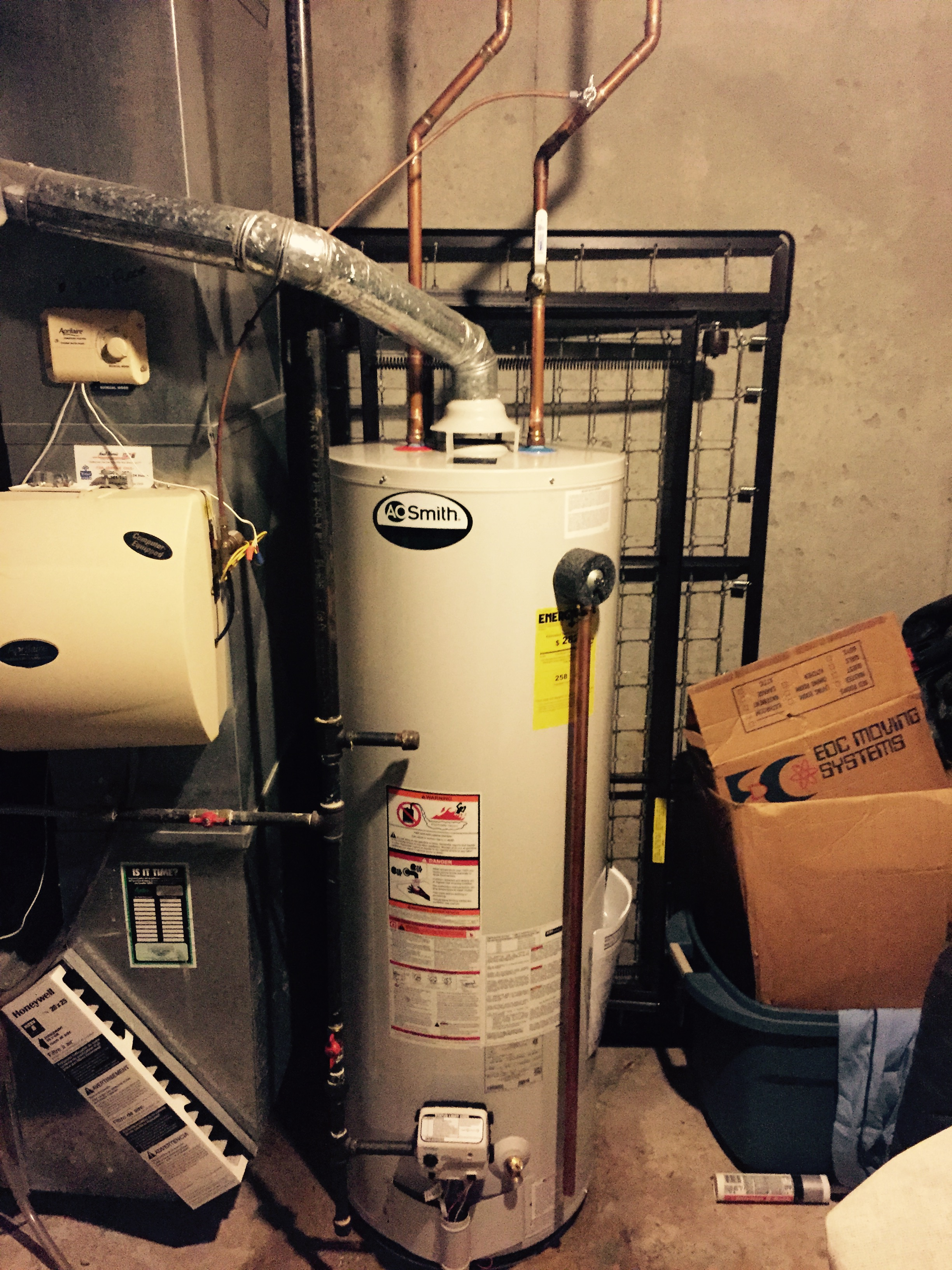 AO Smith installed in Leawood Kansas