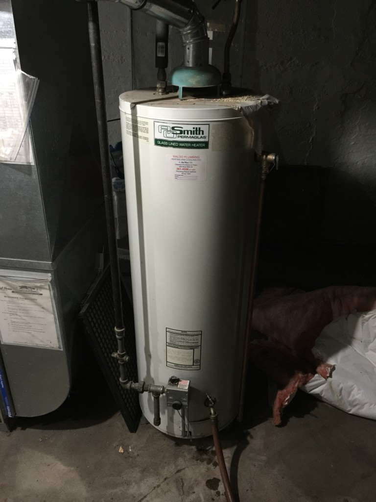 Ao Smith 30 Year Old Water Heater Water Heaters