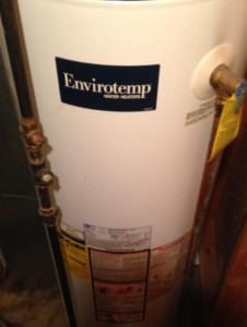 determine age of whirlpool water heater