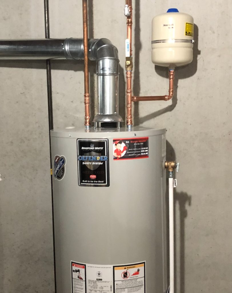 what size thermal expansion tank